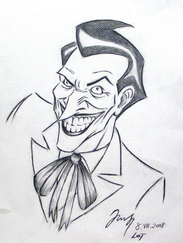 Imgs For > Joker Comic Sketch