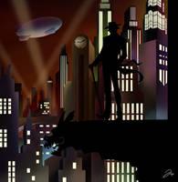 Gotham and it's Clown by TysKaS