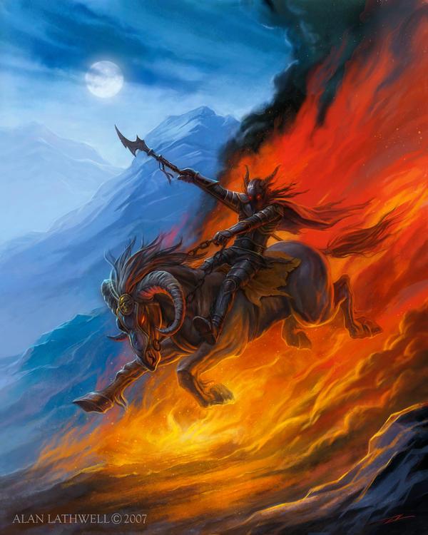 Hell s Horseman by alanlathwell