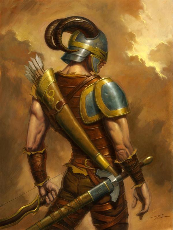 Mictlan. The_Mercenary_by_alanlathwell