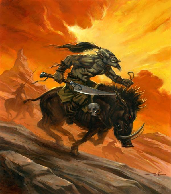 Goblin Charge by alanlathwell