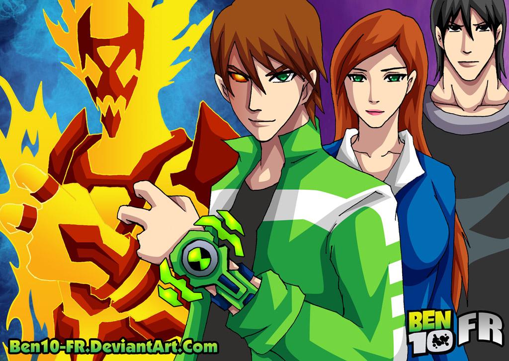 Ben10-FR Hero - Kamen Rider Heatblast by Ben10-FR
