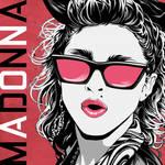 MADONNA first album cover
