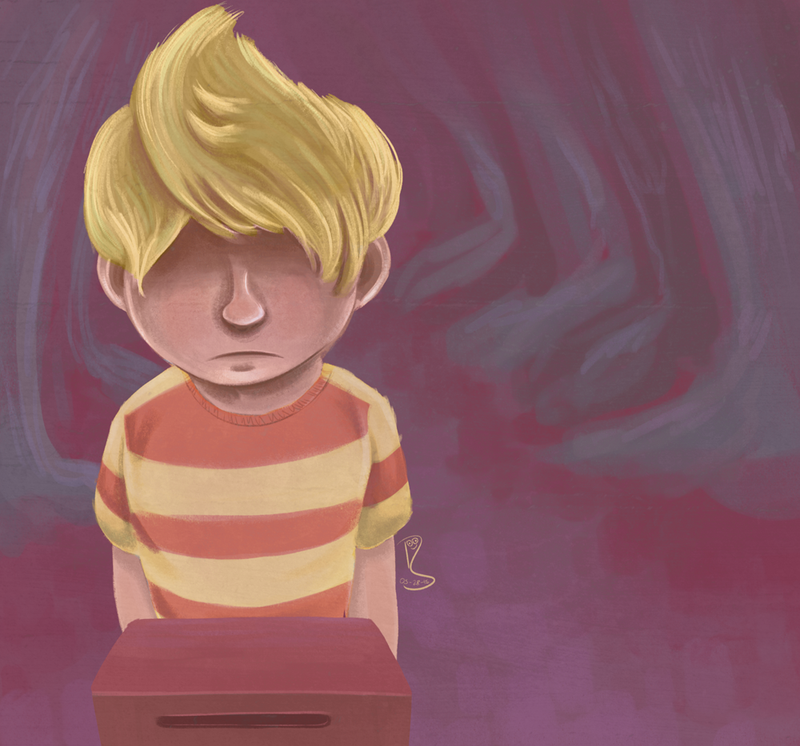 the boy named lucas by doodlescribble