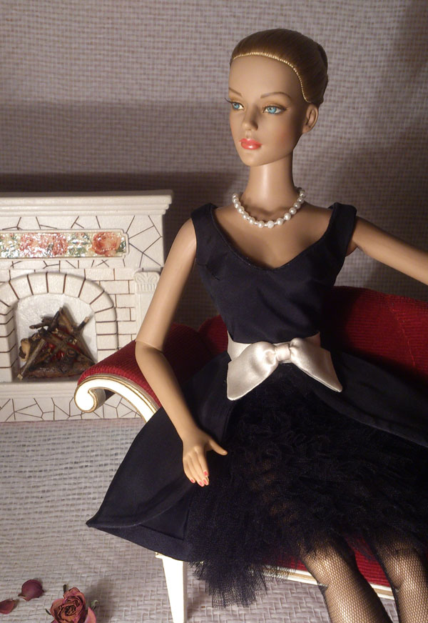 Little Black Dress by M-i-n-e-r-v-a