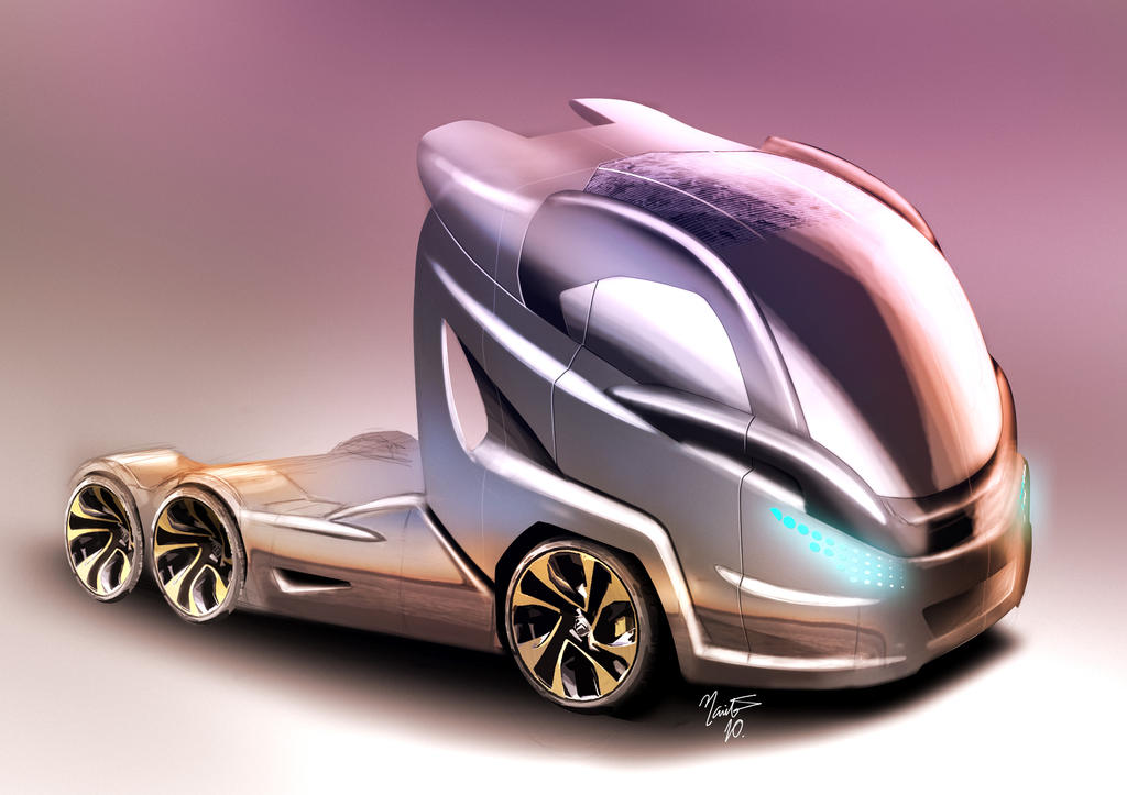 Concept Truck By Thnarita On DeviantArt