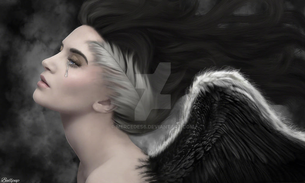 ANGELS LAST TEAR by Mercedes6