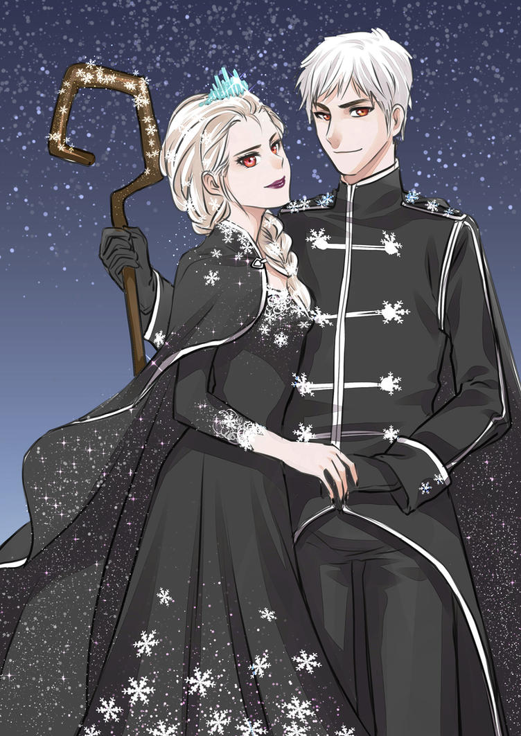 king and queen of snow by ainlavendra on deviantart