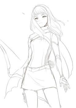 Teen Alicia sketch