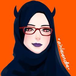 Devilgirl by AinLavendra