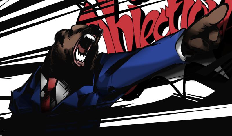 Bearnix Wright by DevilMotion