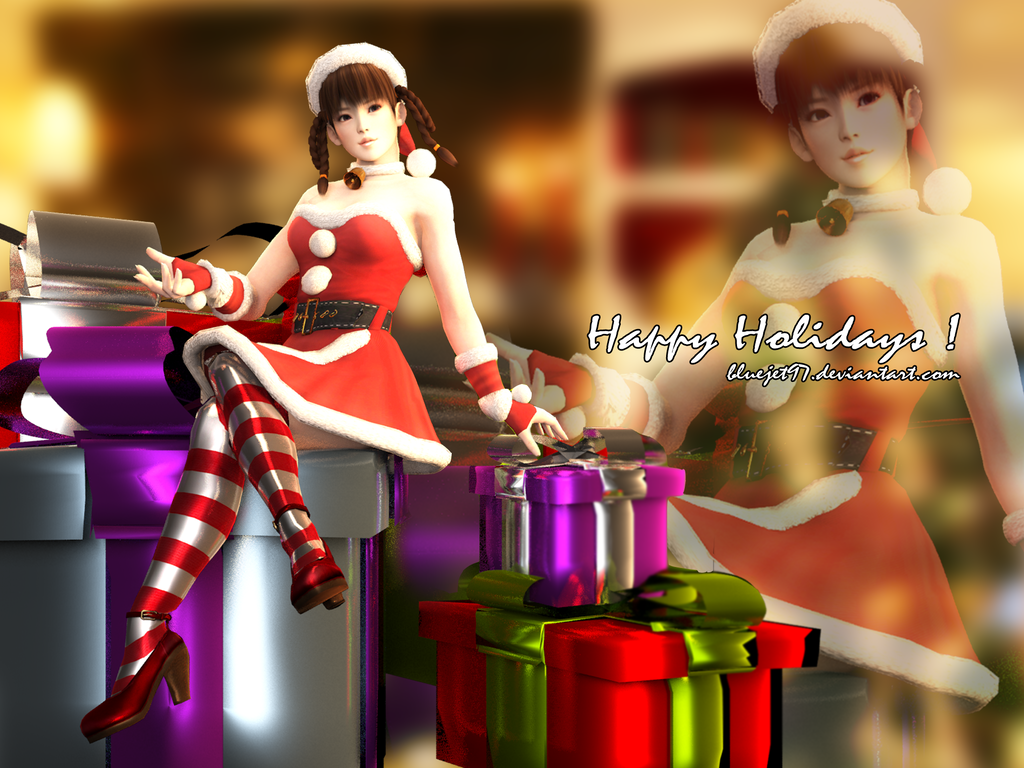 Happy Holidays ! by Bluejet97