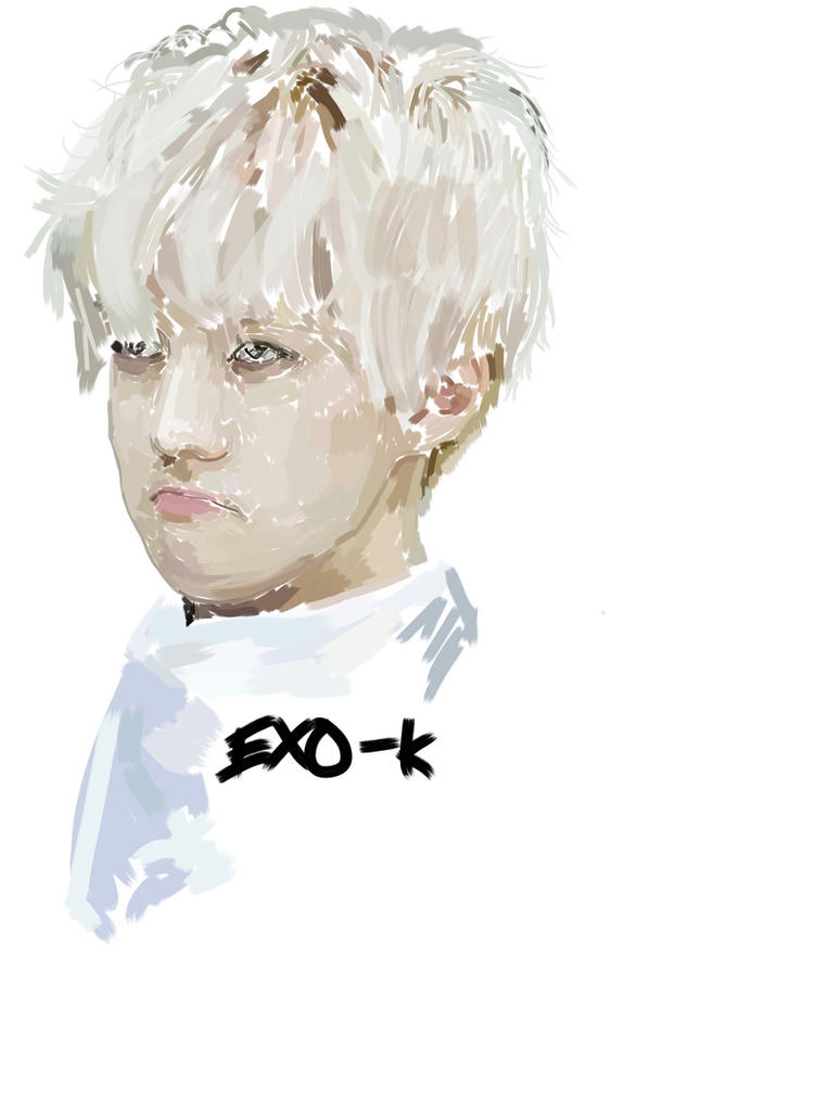 Exo K speed paint by Manami-Miku