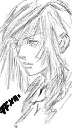 iPhone 5s sketch: FFXIII by Manami-Miku