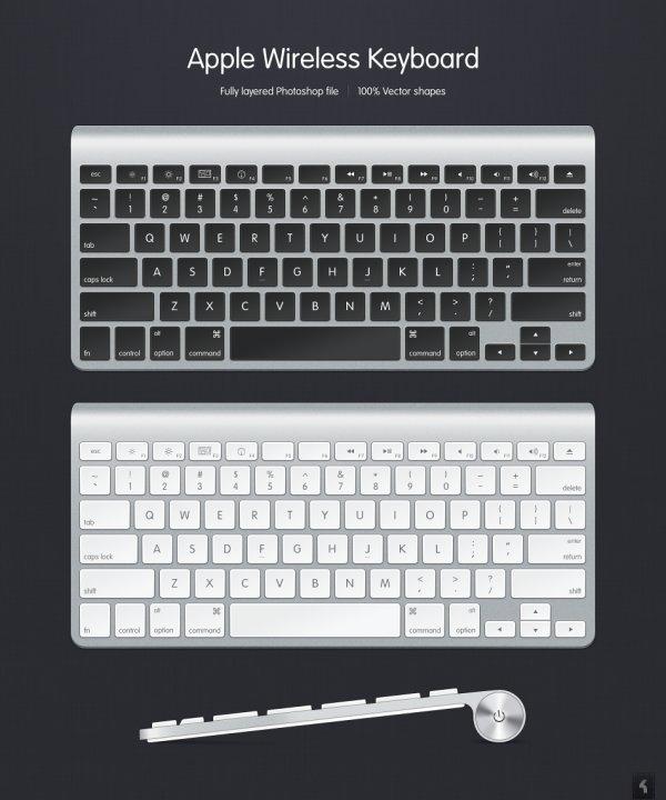 Loadgraphic -Keyboard PSD by kiattikun