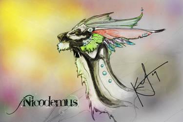 Nicodemus Bust by Yuroboros