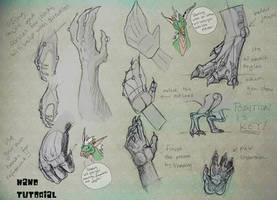 Hand Tutorial by Yuroboros