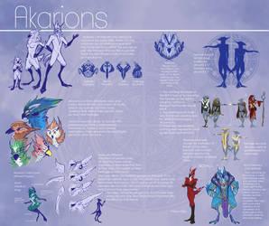 Akarion Ref Sheet by Yuroboros