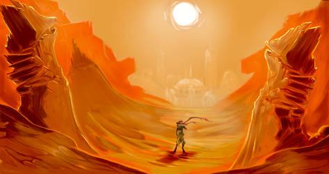 The Wanderer by Yuroboros