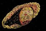 Saturn kwilling by Annhen