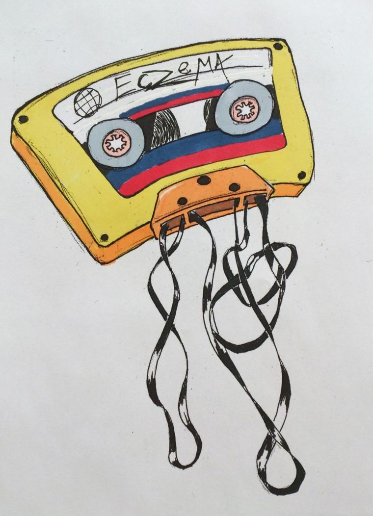 Cassette Tape by EczemaDK on DeviantArt