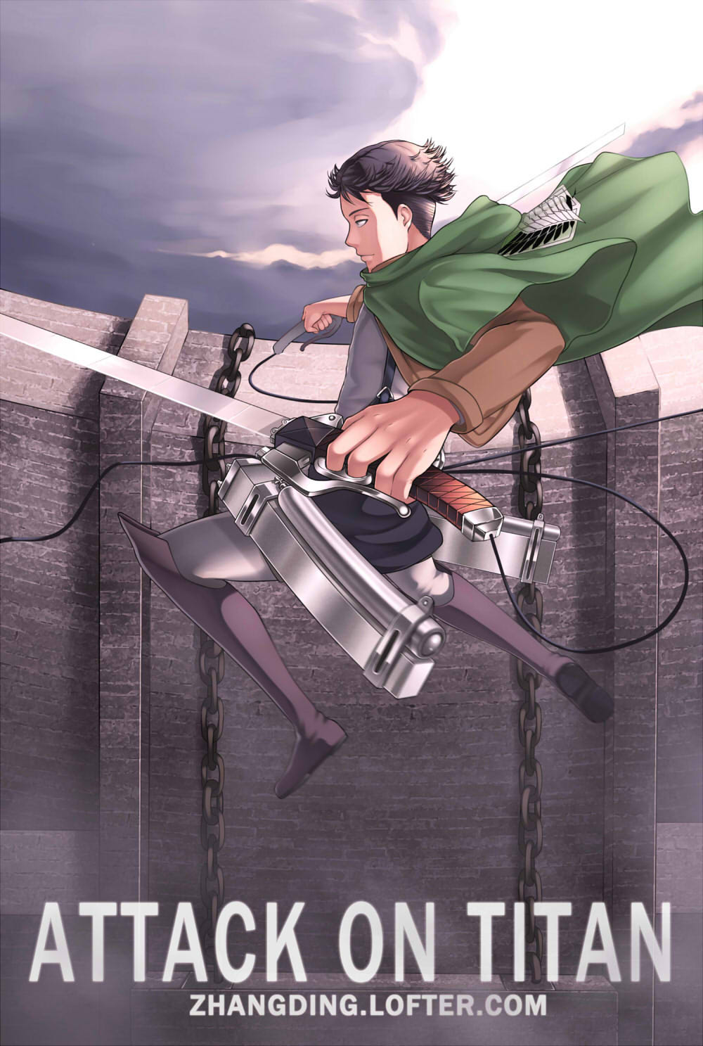Attack on titan by ZhangDing