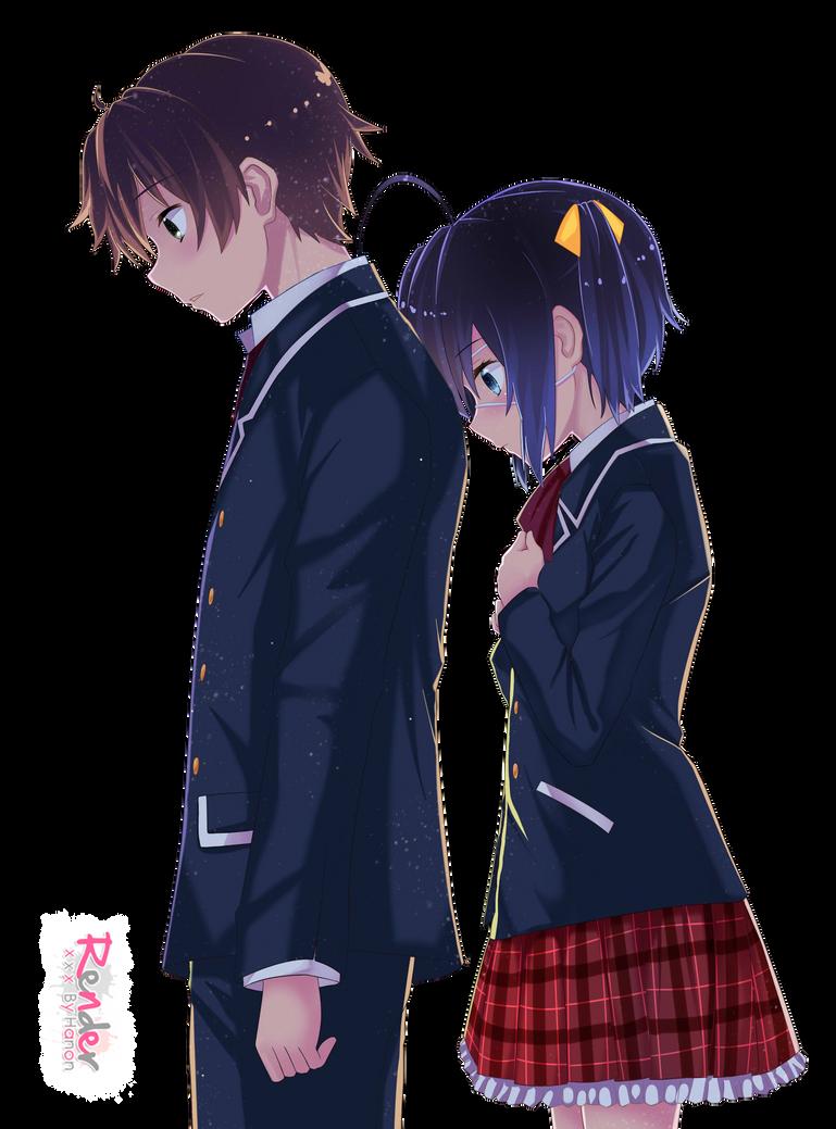 rikka and yuuta