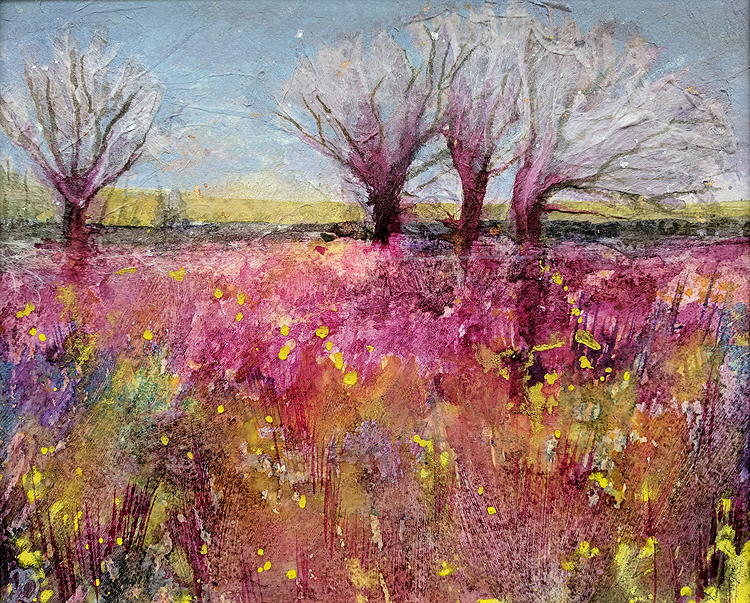Tracy Butler Field Grasses by tracybutlerart