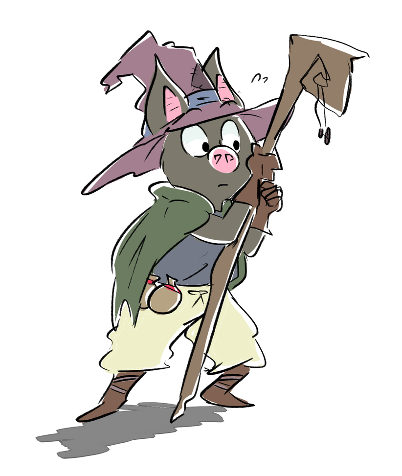 Bat Mage Color by Beezii11