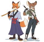 Fox and Doe