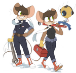 Mags and Spot