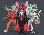 Vampire Queen Phoebe - Halloween 2018