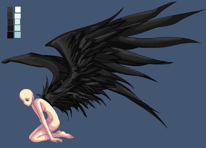 Black-Winged Angel Base by Phoenix976 on DeviantArt