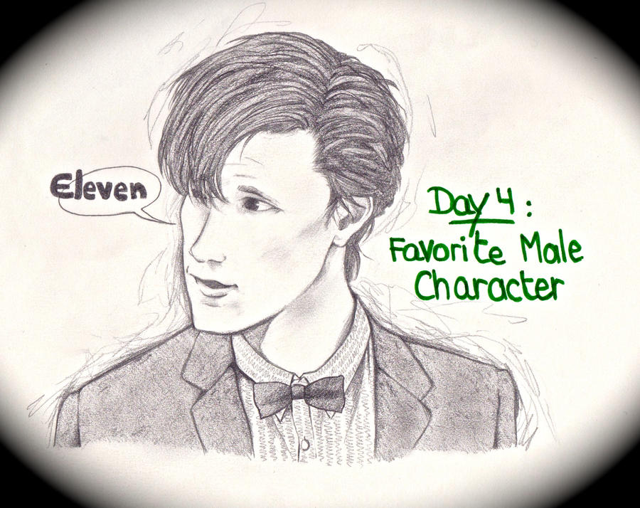 Art Challenge 4: Favorite Male Character by WhatItMeansToBeHuman