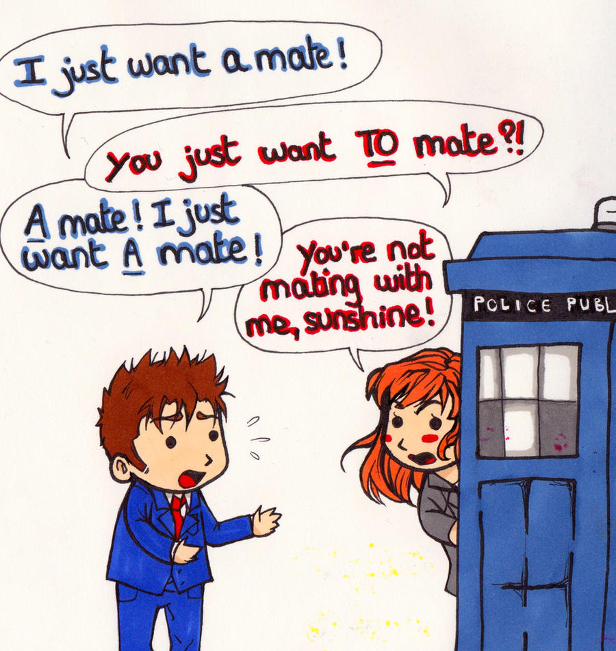 Art Challenge 17: Doctor Who (Fav Donna moment) by WhatItMeansToBeHuman