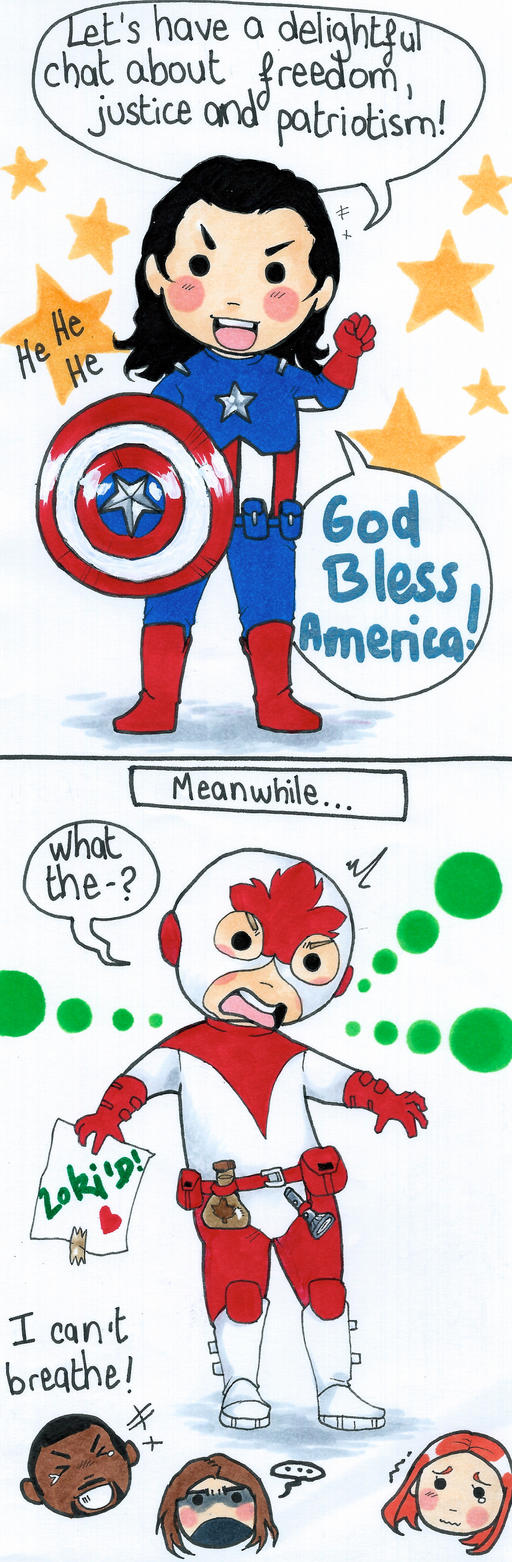 The Star Spangled Man With A Plan By Whatitmeanstobehuman