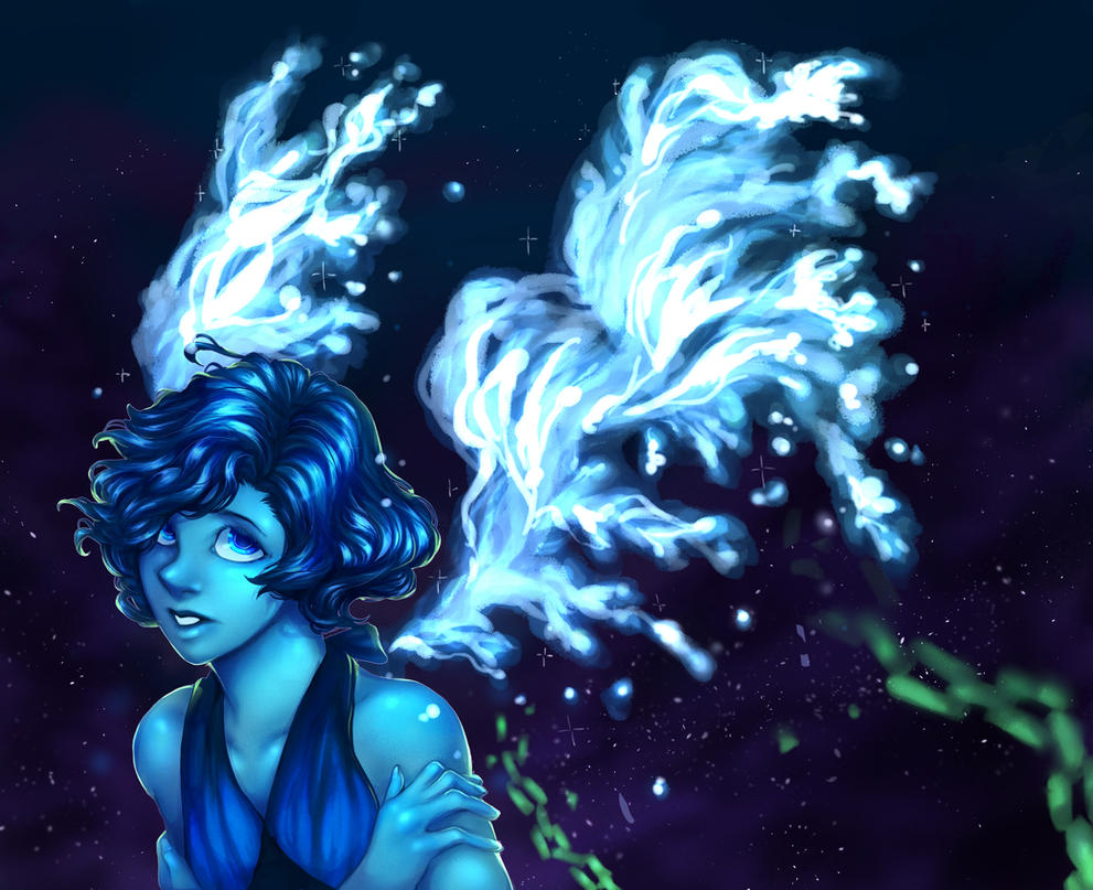 """I'm done being everyone's prisoner!"" Guess who just binge watched 51 episodes of Steven Universe (and made a speedpaint:youtu.be/1GogQtELCRI)"