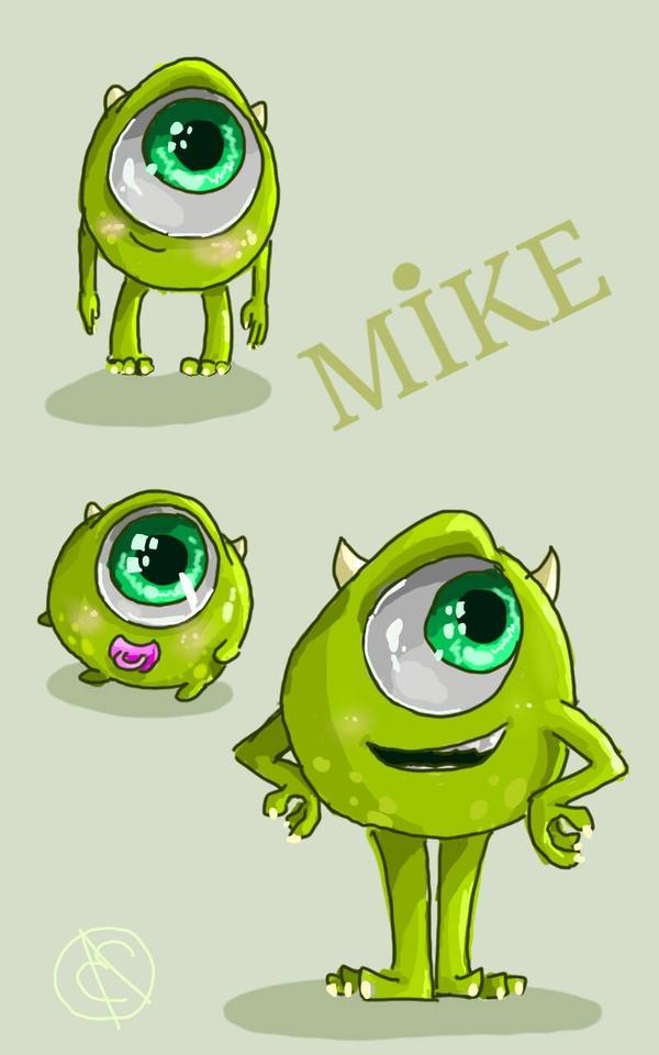 Mike Wazowski  by Elizartzy