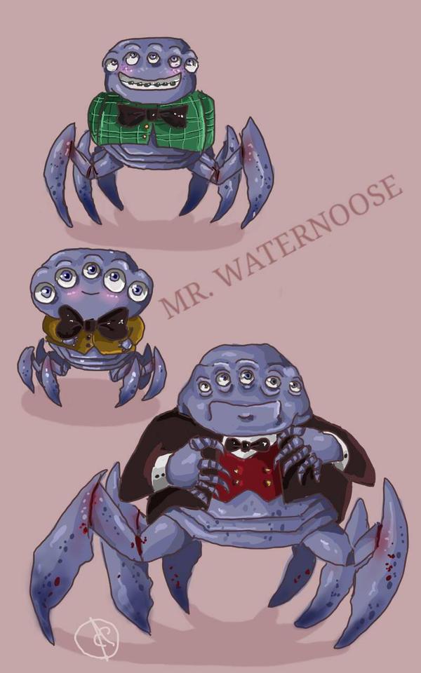 Mr. Waternoose by Elizartzy