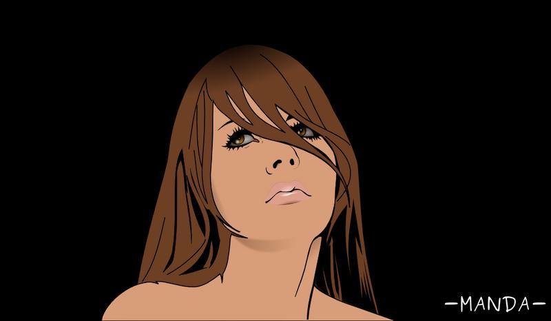 Sad Girl Face by Mandarancio