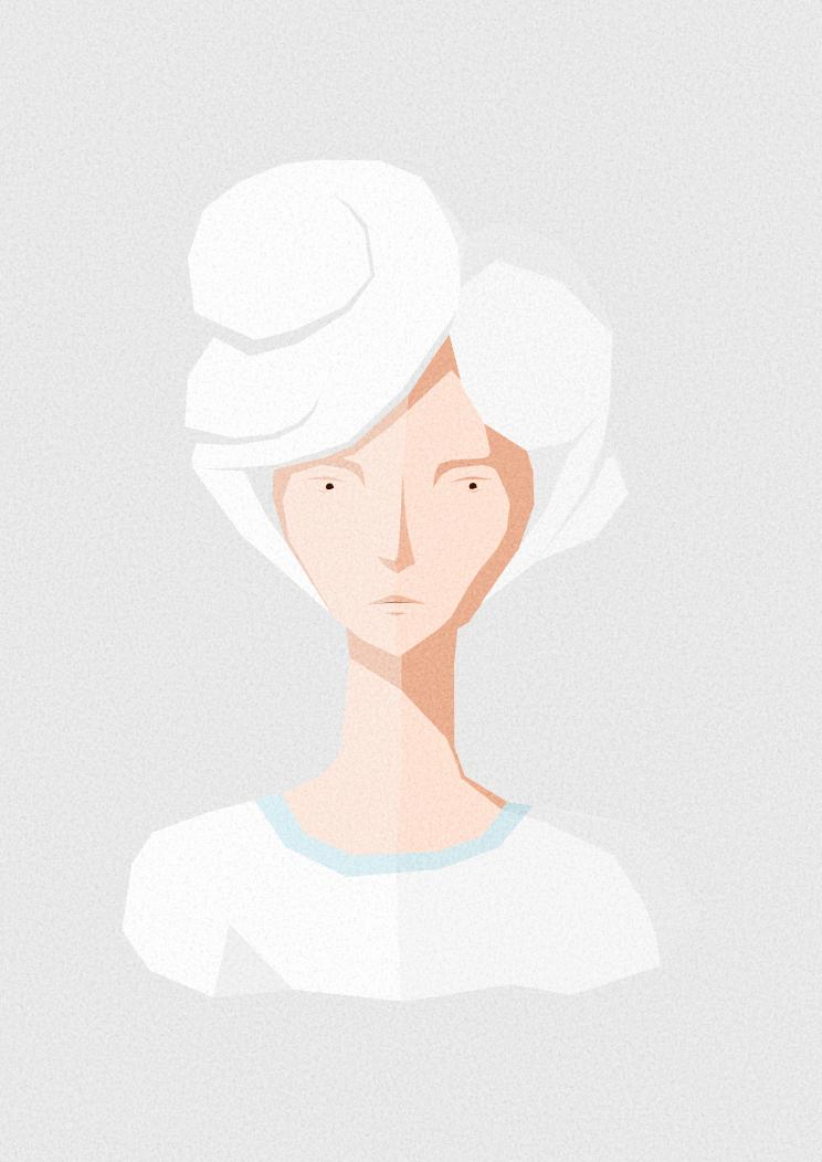 Vectorial Girl by Mandarancio