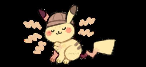 pikach-uwu by supichu