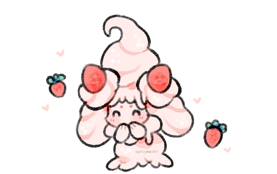 alcremie is a dreamie