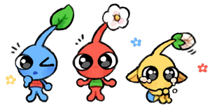 pikmin villagers
