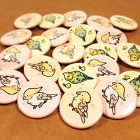 birdie buttons