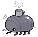 bug with a mug
