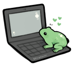 frog with a blog