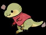 turtleneck t rex