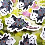 opossom blossom stickers