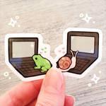 mini pen pal sticker set